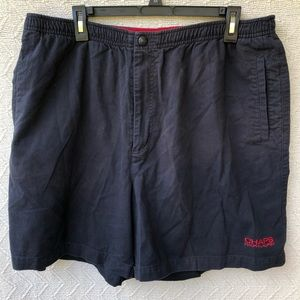 Vintage Black chaps Ralph Lauren swim trunks XL